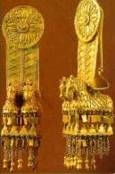 Части женского головного украшения, Вани, ок. IV в. до. н.э. Золото.